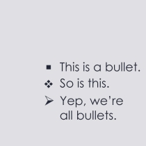 these are the bullets i meant