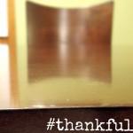 #thankful kitchen table