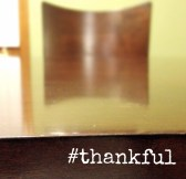 #thankful kitchen table