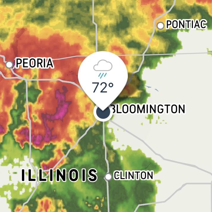weather radar storm approaching